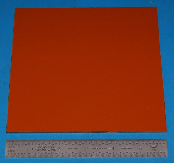 "Garolite Sheet, Grade XX, .125"" (3.2mm), 6x6"" (Tan)"