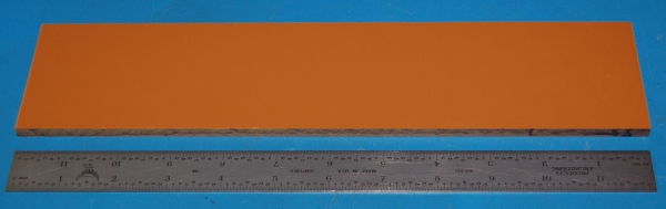 "Garolite Sheet, Grade XX, .250"" (6.4mm), 12x3"" (Tan)"