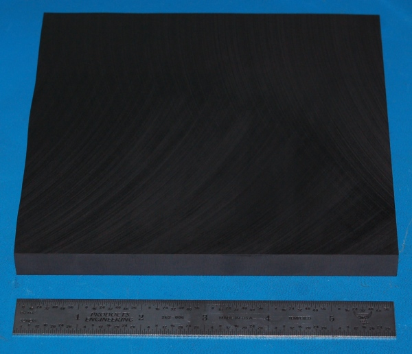"High-Temperature Graphite Sheet, Fine Grain, .500"" (12.7mm), 3x3"" (8x8cm)"