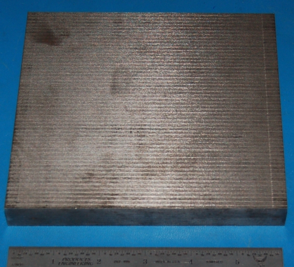 "Cast Gray Iron Sheet / Plate, .780"" (19.8mm), 6x6"""