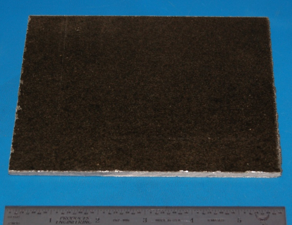 "Mica Sheet / Plate, Ultra-High Temperature, Opaque, .125"" (3.2mm), 6x5"""