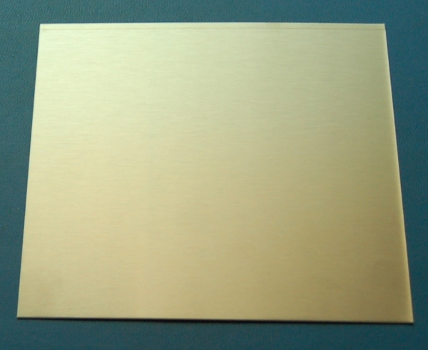 "Stainless Steel 304 Sheet, .036"" (.91mm), 6x6"""