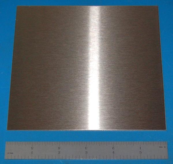 "Stainless Steel 304 Sheet, .060"" (1.5mm), 6x6"""