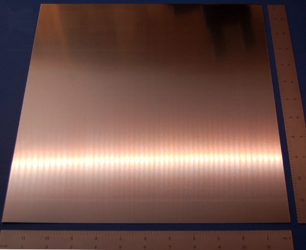 "Stainless Steel 304 Sheet, .024"" (.61mm), 12x12"""
