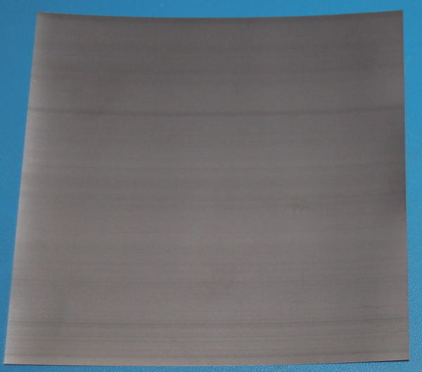 "Titanium Sheet, .005"" (0.13mm), 6x6"""