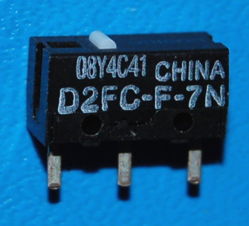 D2FC-F-7N Ultra Sub Miniature Basic Switch for Mouse