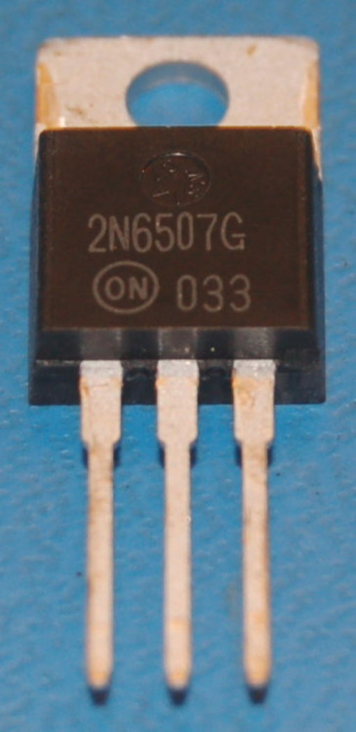 2n6507 Thyristor SCR, 400V, 25A, TO-220AB