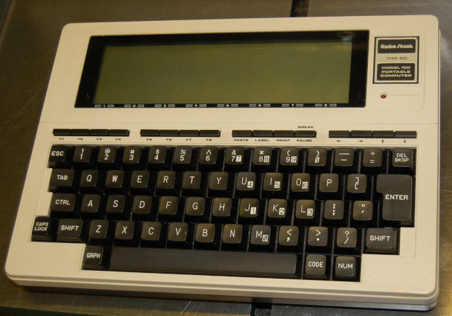 Radio Shack TRS-80 Portable Computer (not working)