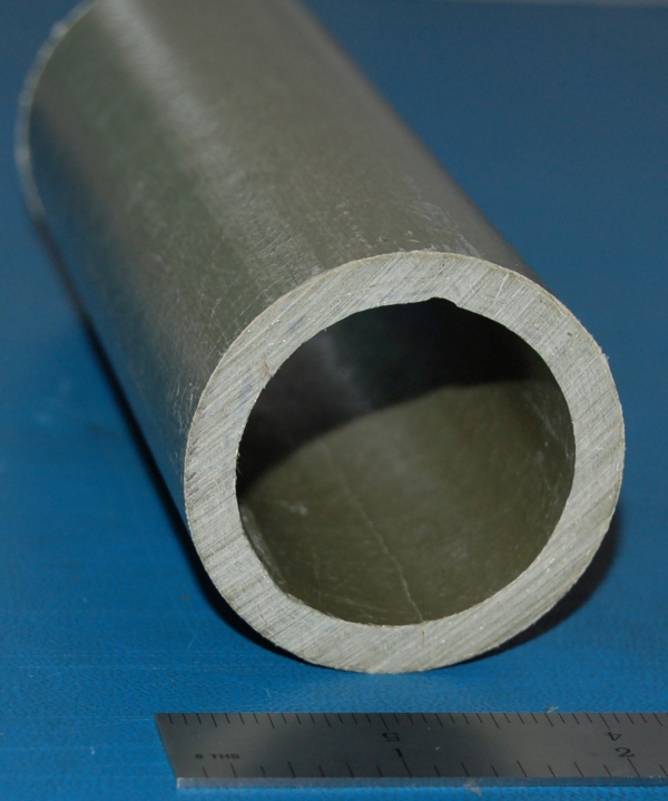 "Fiberglass Tube, 2.000"" (50.8mm) OD x .230"" (5.8mm) Wall x 6"""