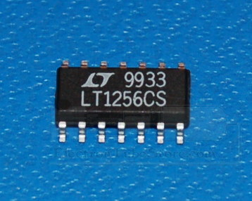 LT1256CS Video Fader and DC Gain Controlled Amplifier, SOIC-14