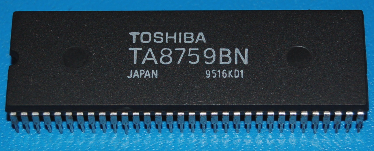 TA8759BN Video Chroma & Sync. Signal Processor for PAL/NTSC/SECAM