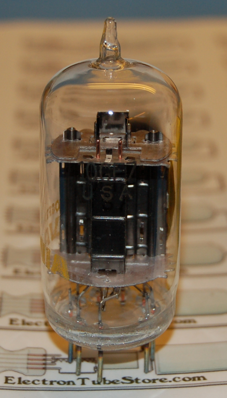 10GF7 double triode tube
