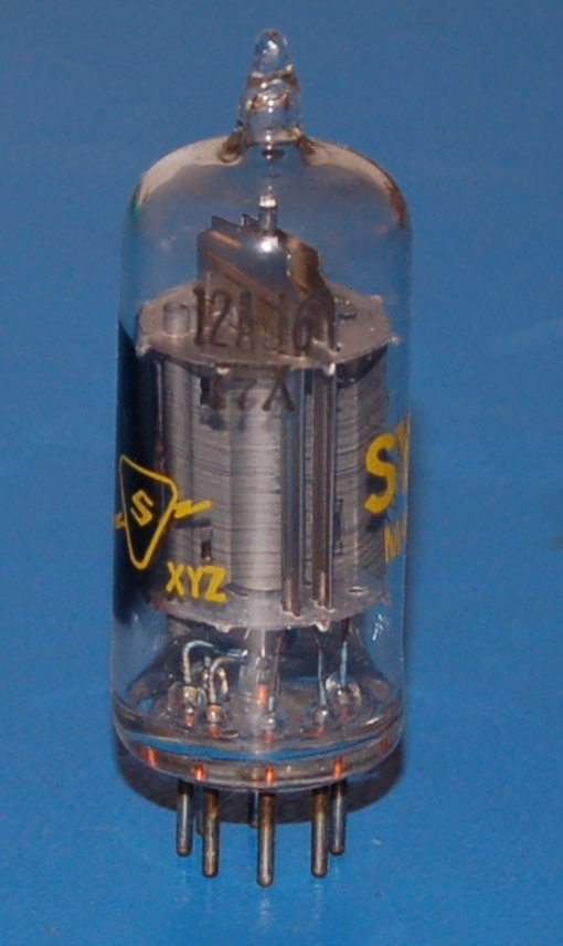 12AJ6 Twin Diode - High-Mu Triode Tube