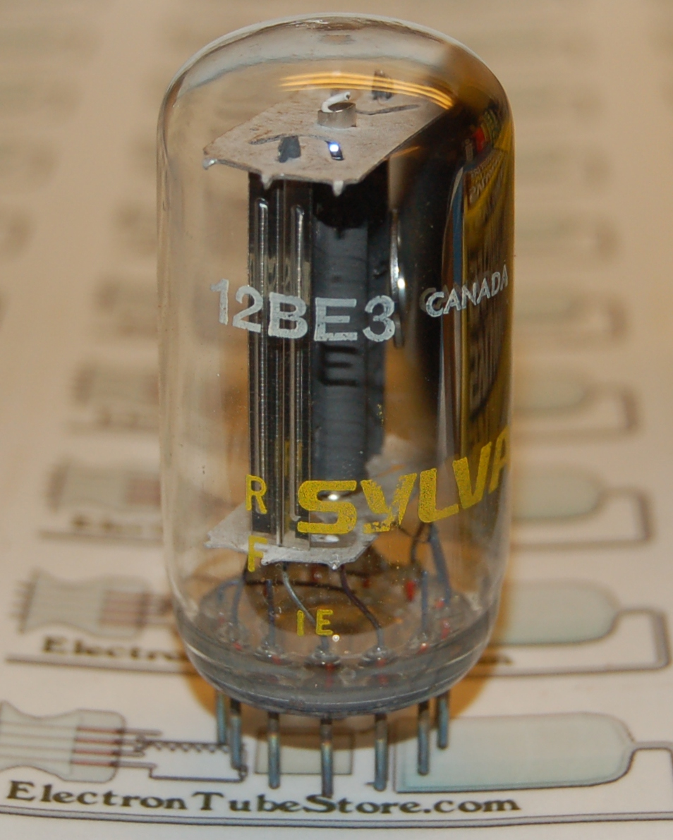 12BE3 power rectifier diode tube