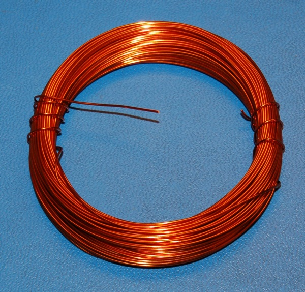 "Enamel Coated Magnet Wire #22 (.028"" / .71mm) x 100'"