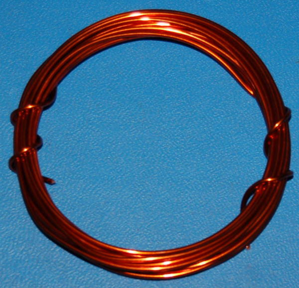 "Enamel Coated Magnet Wire #16 (.052"" / 1.33mm) x 10'"