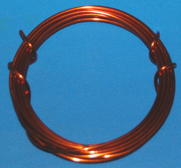 "Enamel Coated Magnet Wire #14 (.066"" / 1.67mm) x 10'"