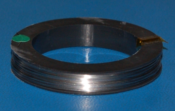 "Glass-Sealing Kovar Wire, .016"" (.41mm) x 100'"