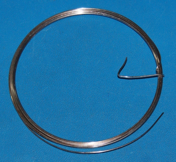 "Nickel Wire, Pure, 0.8mm (.031"") x 10'"