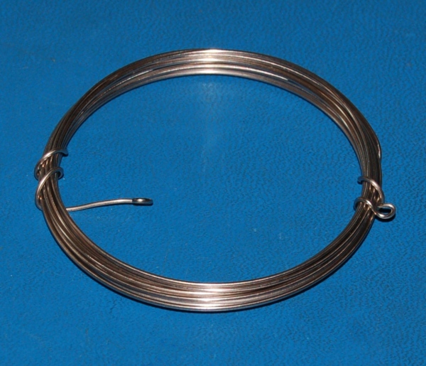 "Nickel Wire, Pure, 1mm (.039"") x 10'"