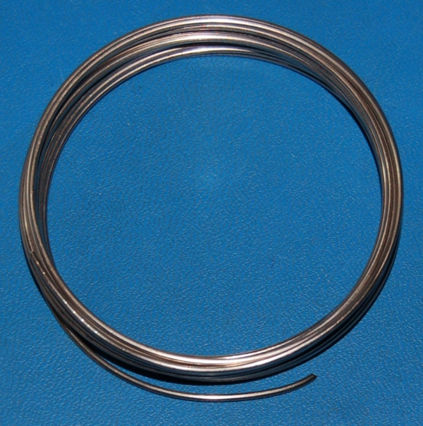 "Nickel Wire, Pure, 1.5mm (.059"") x 10'"