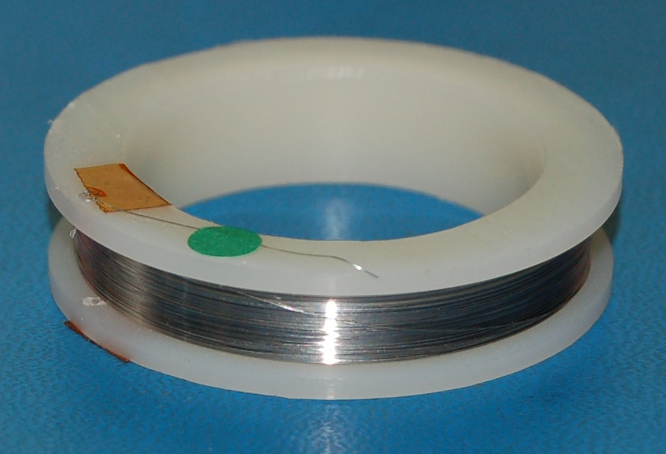 "Stainless Steel 304 Soft Wire #36 (.005""/.13mm) x 100'"