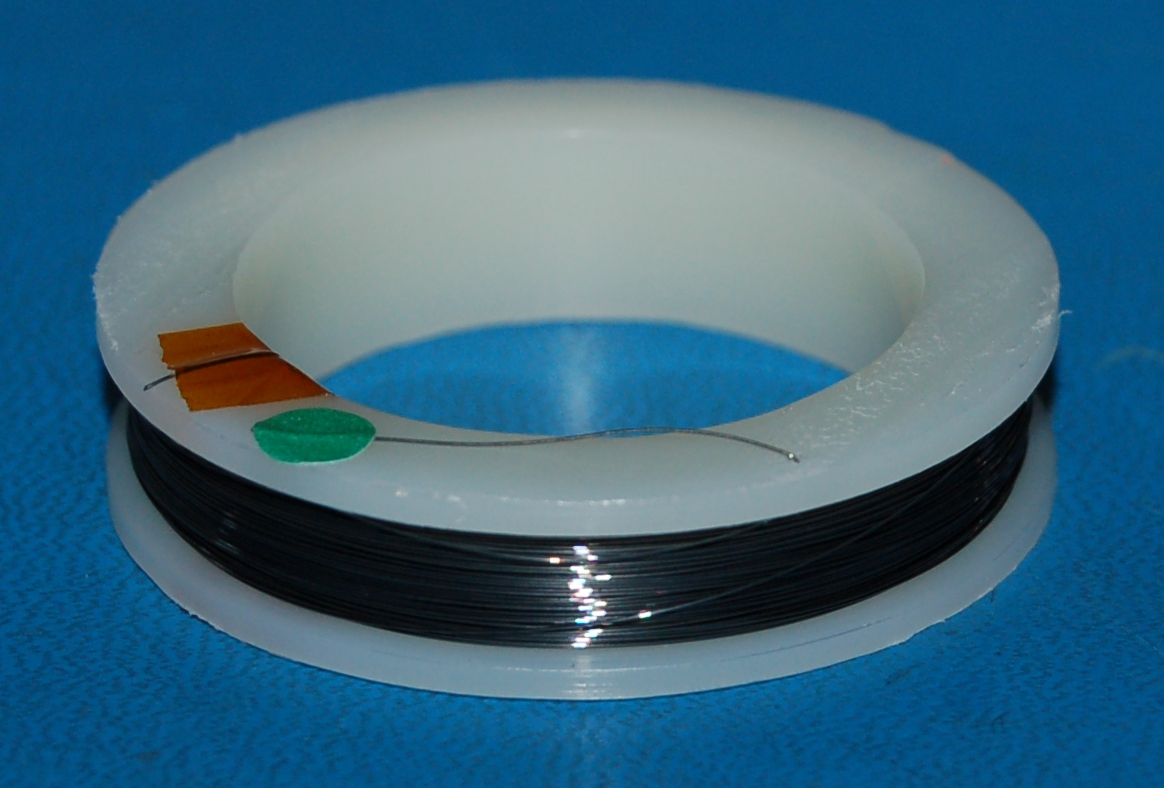 "Tungsten Wire .008"" (0.20mm) x 100'"