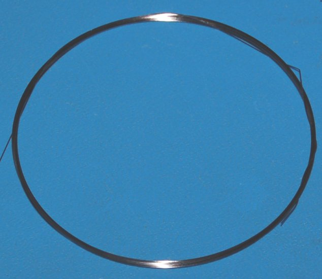 "Tungsten Wire .015"" (0.38mm) x 10'"