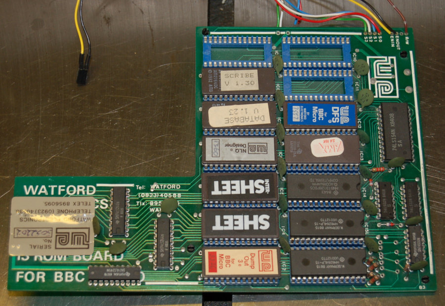 Watford Electronics WE 13 ROM Board for Acorn BBC Micro