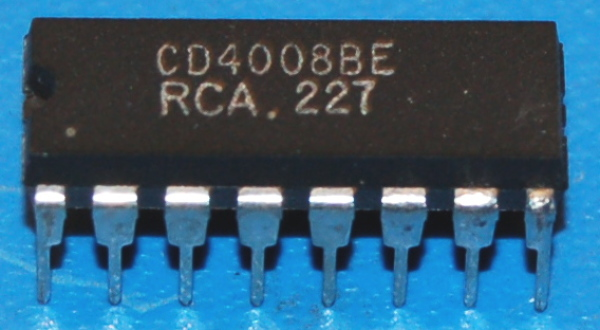 4008B 4-Bit Full Adder, DIP-16