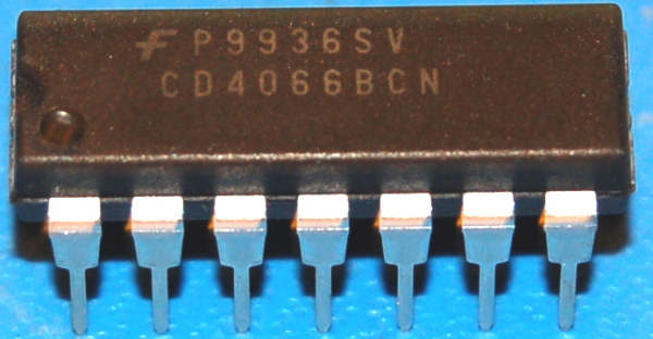 4066BCN Quad Bilateral Switch, DIP-14