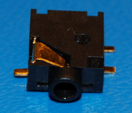 "2.5mm (TRS-3/32"") Stereo Jack, Surface Mount"