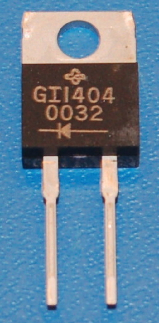GI1404 Ultra-Fast Rectifier Diode 8A, 200V, TO-220AC