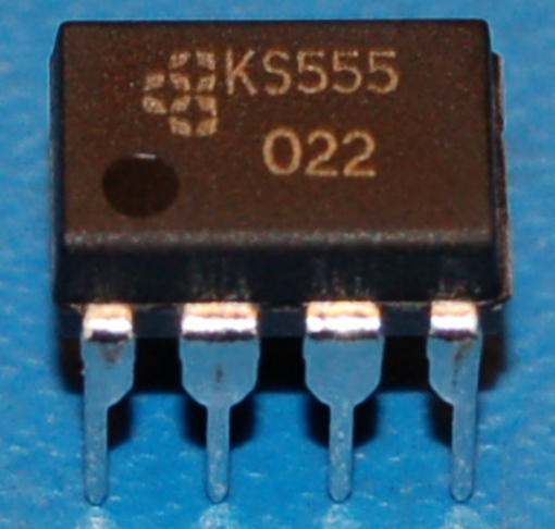 KS555 CMOS Single Timer, DIP-8