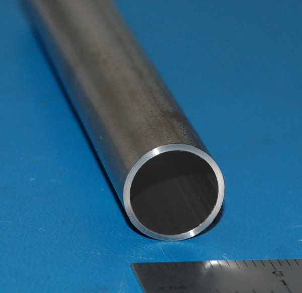 "Titanium Tube, 1.000"" (25.4mm) OD x .049"" (1.2mm) Wall x 6"" - Click Image to Close"