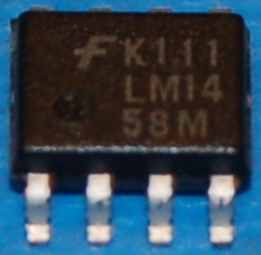 LM1458M Dual Operational Amplifier