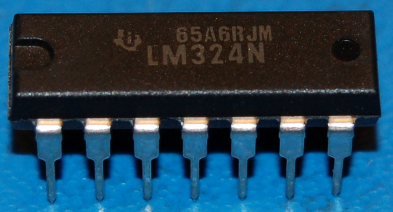 LM324N Quad Low-Power Operational Amplifier, DIP-14