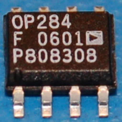 OP284FS High-Precision Rail-to-Rail Input/Output Operational Amplifier