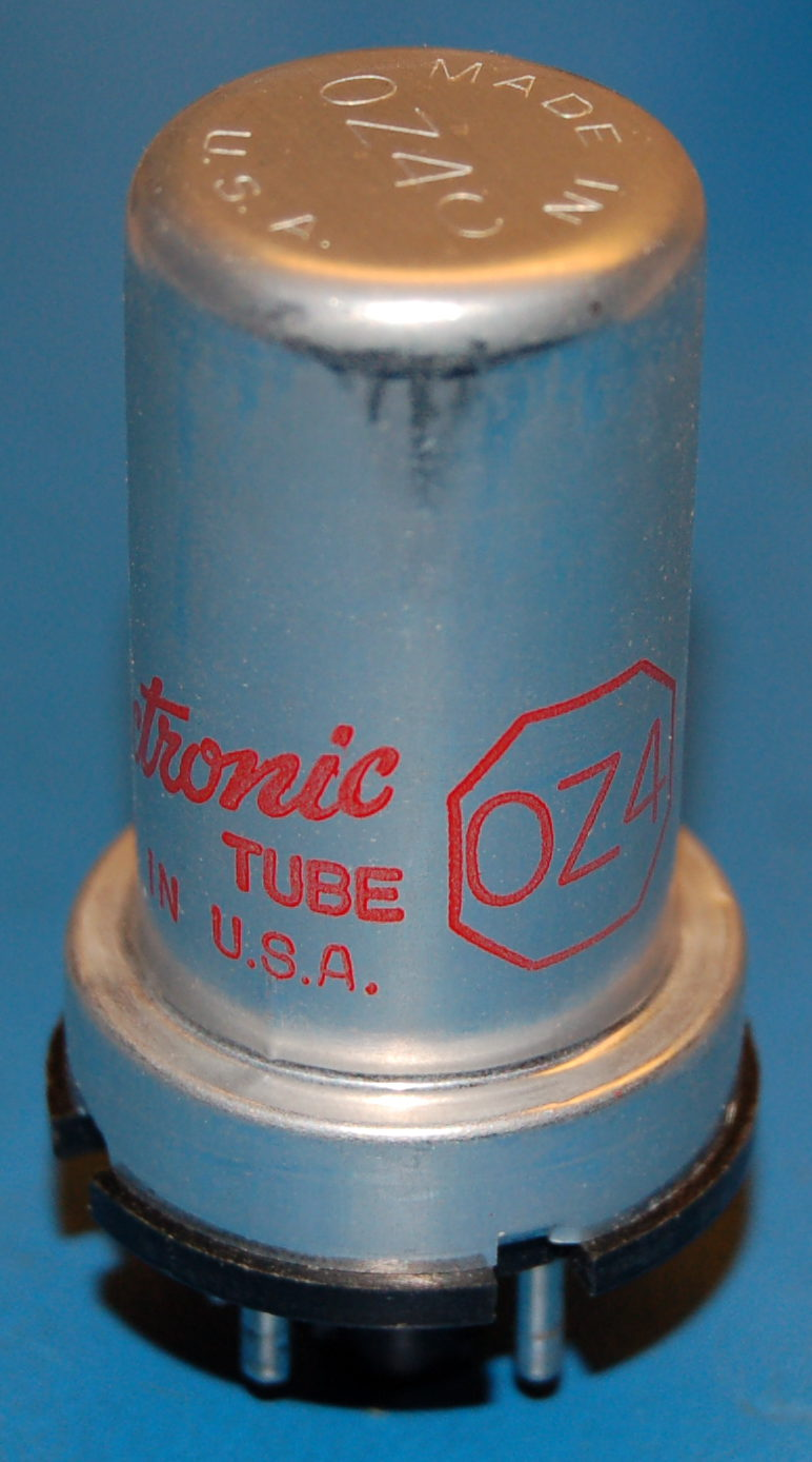 0Z4 Full-Wave Gas Rectifier Diode Tube
