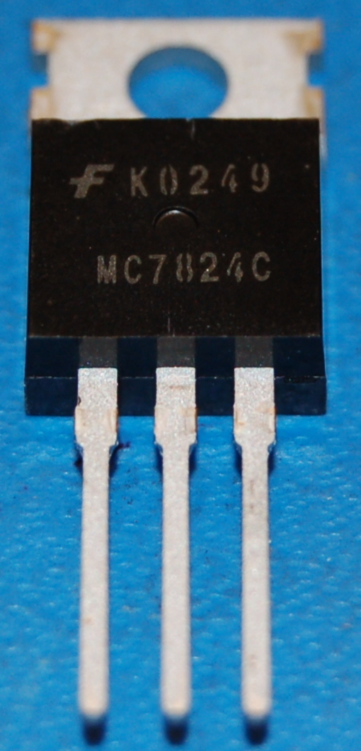 7824 Voltage Regulator, Positive Fixed 24V, 1A, TO-220