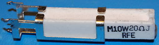 Wirewound Ceramic Power Resistor, 20Ω, 5%, 10W (5 Pk)