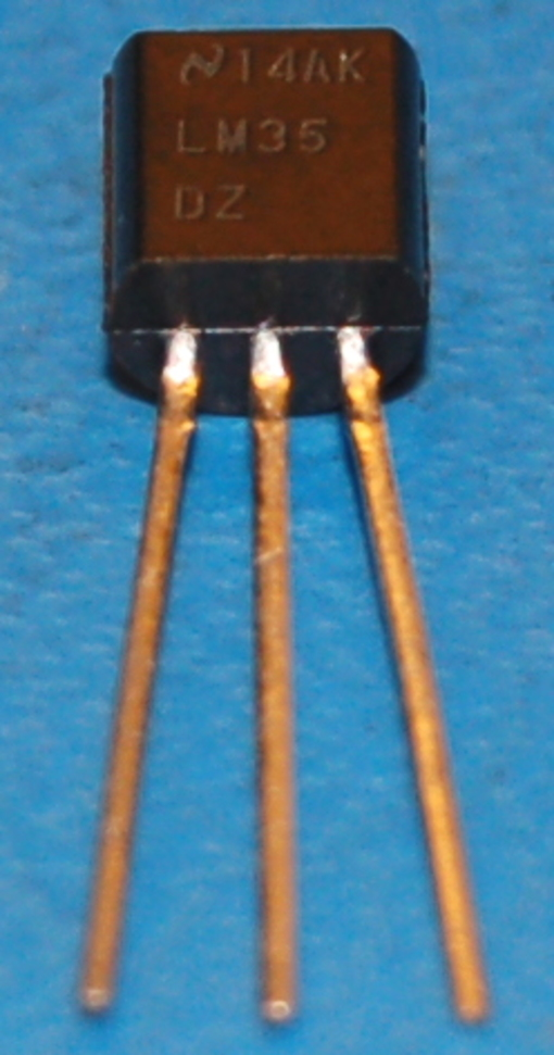 LM35 Precision Centigrade Temperature Sensor, TO-92