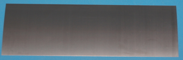 "Titanium Sheet, .005"" (0.13mm), 6x2"""