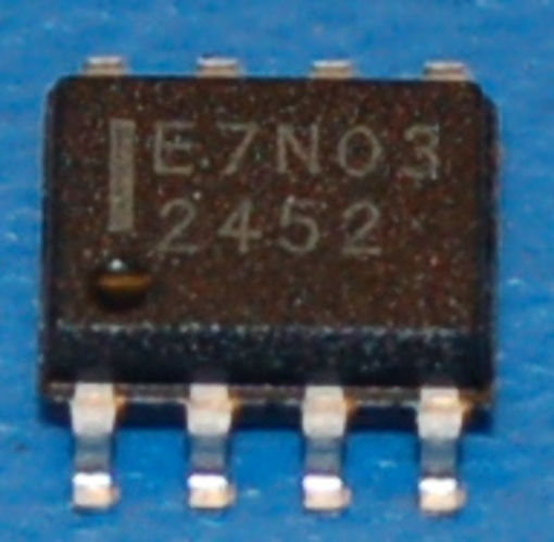 NTMS7N03R2 N-Channel Power MOSFET, 30V, 4.8A, SOIC-8 (10 Pk)