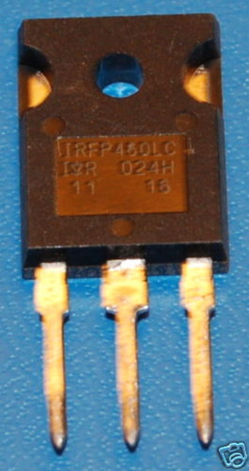 IRFP460LC N-Channel Power MOSFET (HEXFET), 500V, 20A, TO-247