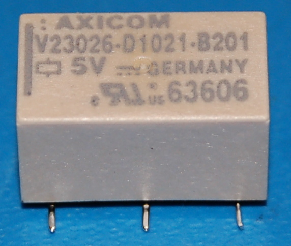 Tyco Axicom Single-Pole Signal Relay, 5V, 1A, Non-Latching