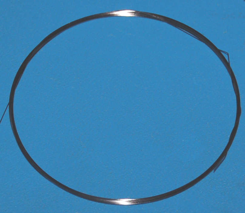 "Tungsten Wire .006"" (0.15mm) x 10'"