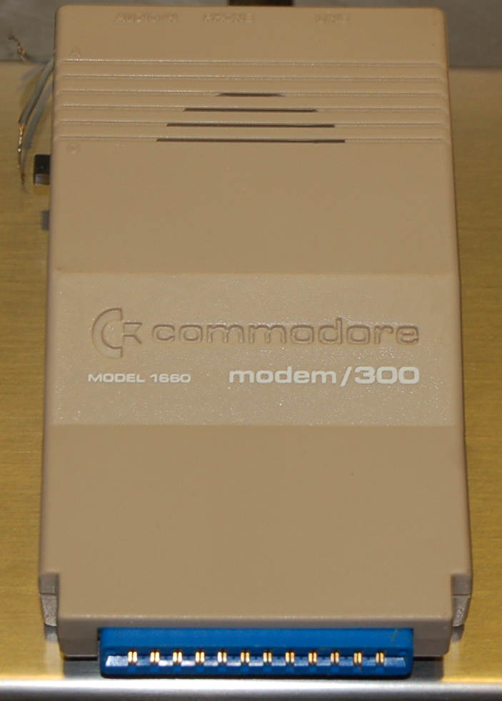 Commodore Modem, Model 1660, 300 baud