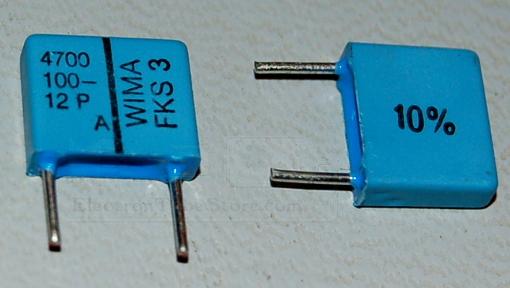 4x MKP10-2N2//1600-R Polypropylene Capacitor 2,2nF 10mm ± 10/% 4x9x13mm WIMA