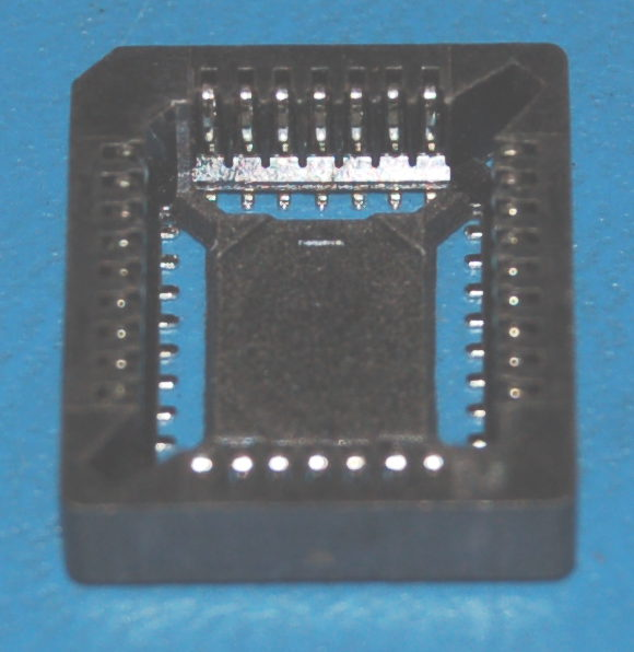 IC Socket, PLCC-32 x Surface